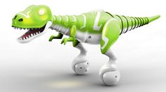 This Baby Dinosaur Robot Is The Most Adorable Thing You'll See All Day - OhGizmo! This.