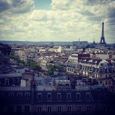 Don't miss any chance to take in Paris' sweeping vistas -- #sfbinparis @ballet -- Paris in Île-de-France