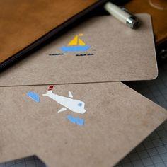 bon voyage postcards