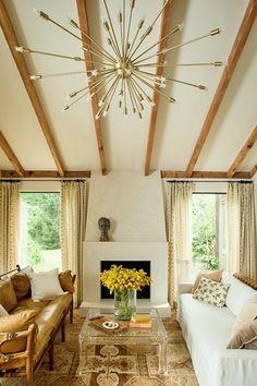 Lauren Liess Living Room | Pure Style Home.  Photo By Helen Norman