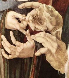 Christ Among the Doctors (detail), Albrecht Dürer, 1506