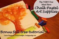 Video: Fall tree tutorial www.hodgepodge.me