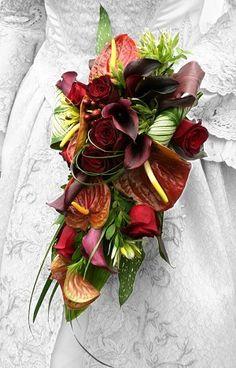 Autumn/Fall Wedding Bouquet. #VOSS