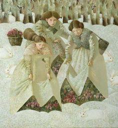 Early Spring, Anna Berezovskaya