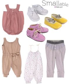smallable baby, baby girl, baby clothes
