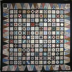 Dear Jane quilt by Betty, quilted by Jan Hutchison   The Dear Jane solution   The Secret Life of Mrs Meatloaf