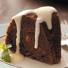 Chocolate Zucchini Cake Recipe from Taste of Home