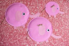 Dandelions on the Wall: Homeschool: Elephant Craft