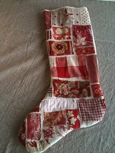Patched Christmas Stocking Tutorial
