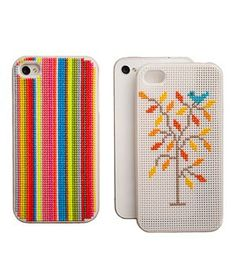 Leese Design iPhone Cross Stitch Case #gifts