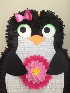 penguin party ideas: penguin pinata