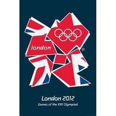 Olympics, Olympic, Olympic games, Olympic poster, poster, print, Olympic print, union jack, London 2012 Olympics, London 2012 games, Olympic games