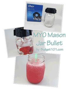 Mason Jar Bullet