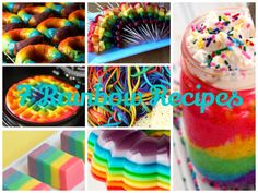 7 Ways To Eat Rainbows!