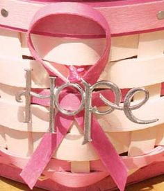 Horizon of Hope Handwoven Baskets promoting Breast Cancer Awareness