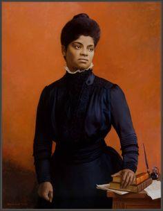 Ida B. Wells  (1862-1931) journalist, editor, womens and civil rights activist