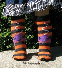 Make doll sized socks