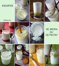 Iogurtes Caseiros para todos os gostos