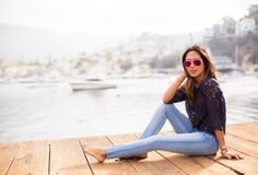 Escape with Aimee Song as she takes you to Catalina Island on her photo journey.  #DreamingInBlue