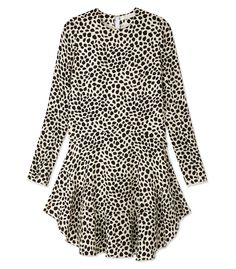 Chloé Spotted Print Dress - Shop 10 exact looks from the chicest fashion Instagrams: http://shop.harpersbazaar.com/trends/the-sunday-social