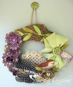 Live In The Moment Wreath