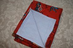 basic flannel baby blanket diy