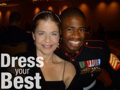 As your Marine's date to the birthday ball, be sure to look your best, not a hot mess!