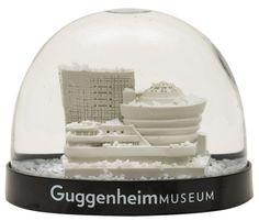 snow globes, guggenheim