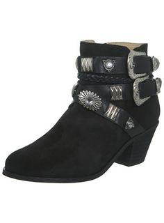 Miss Selfridge INSPIRED BY Suede Black Boot