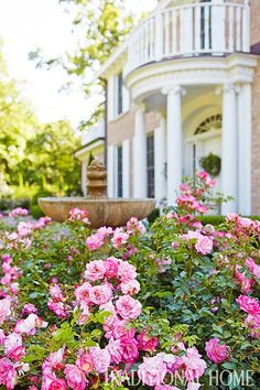 Classic Mother-Daughter Garden - Traditional Home