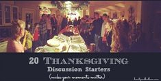 20 Thanksgiving Discussion Starters to make your moments more meaningful