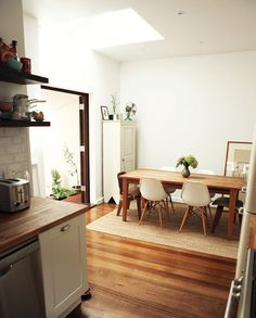 dining rooms, modern chairs, eam, kitchen tables, new homes, dining chairs, kitchen dining, dining spaces, dining tables