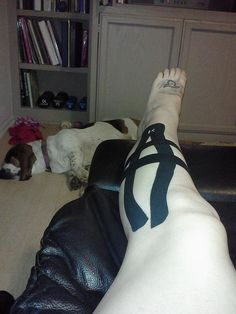 KT Tape for shin splints by KT TAPE, via Flickr