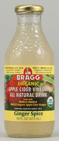 #vitacostfoodie  Bragg Organic Apple Cider Vinegar Ginger Spice