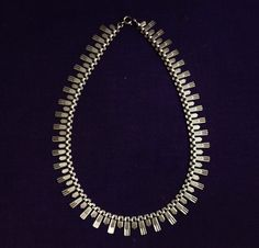 1920-30s Art Deco Sterling Silver Necklace