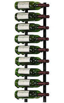 VintageView Wine Racks 12 Bottle Platinum   WS41-P, #1572 by VintageView. $89.99. Cold-rolled steel construction for strength and durability. Modular to fit most space requirements. Provides a clean, sleek look. Ships next business day. Displays bottles with the label forward instead of the cork. VintageView wine racks are designed so that you can see and enjoy the labels in your wine collection, making bottle recognition fast and easy. Wine bottles are stored sid...