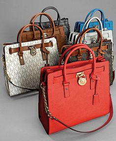 MICHAEL Michael Kors Hamilton Totes - Shop All Michael Kors Handbags & Accessories - Handbags & Accessories - Macy's