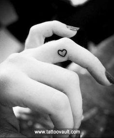 heart tattoo on hand   Love heart tattoo on hand