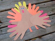 thanksgiving crafts thanksgiving turkey, thanksgiving crafts, school parties, thanksgiv craft, turkey craft, hand prints, hand crafts, kid crafts, november crafts