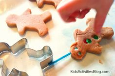 Play Dough Gingerbread Man - Kids Activities Blog