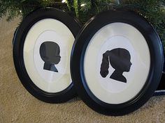 Framed Silhouettes.