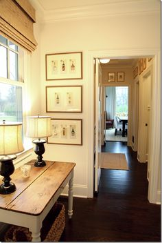 frame, farm tables, the farm, hous, hallway