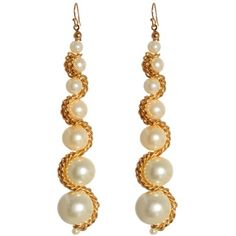 Earrings with chain / jewelry and fashion jewelry / Fashions stylish clothing and interior alterations