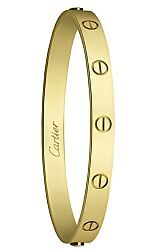 Cartier LOVE bracelet. I need this!