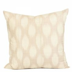 Sand Spotted Silk Pillow