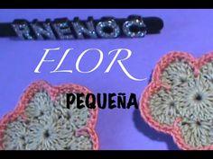FLOR PEQUEÑA DISEÑO 1, GANCHILLO CROCHET
