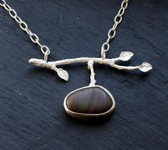 Sticks and Stones Necklace by fugudesigns on Etsy, $120.00