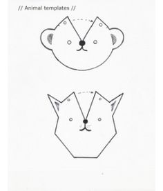 Animal Templates for leather keychain