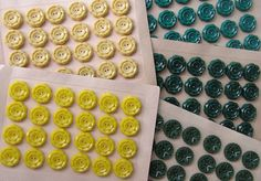 """""""Vintage beads inspired #Hannah's color palette in a snapshot"""" -Jenn Rogien"""