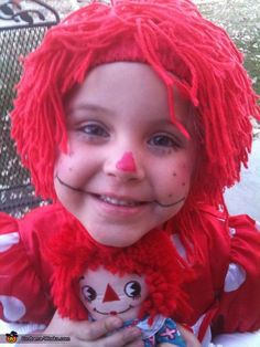 Raggedy Ann Costume - 2012 Halloween Costume Contest
